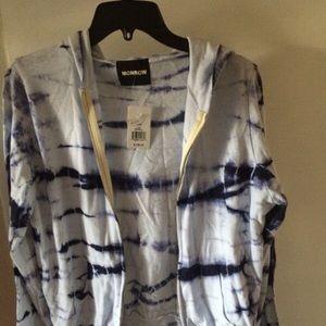 Monrow Jackets & Blazers - Monrow tie dye jacket - NWT