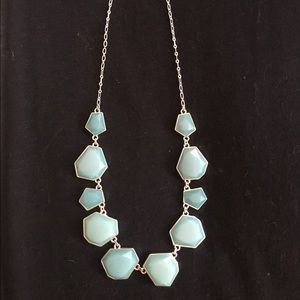 Simple Turquoise Statement Necklace