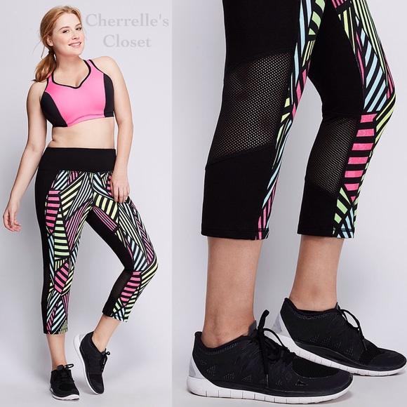 22d936f531735 Lane Bryant Pants | Livi Active Capri Leggings Plus Size | Poshmark