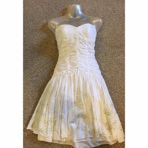 Sisley White Dress Size XS Like New