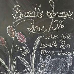 15% Bundle Savings