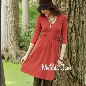 Matilda Jane changing leaves kimono dress medium