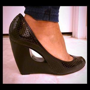 BCBGirls Shoes - 🌟ITS A STEAL👠BCBGIRLS Black Wedges GREAT DEAL