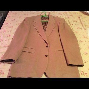 Pierre Balmain Other - Pierre Balmain Men's Tan Wool Suit Coat 👌🏼🍾