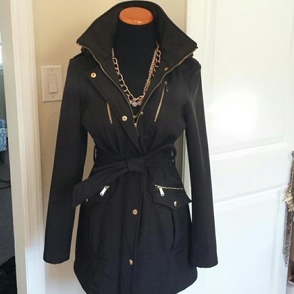 64 off michael kors jackets blazers michael kors water resistant hooded winter coat from. Black Bedroom Furniture Sets. Home Design Ideas