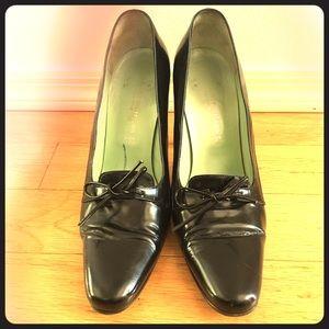 Sigerson Morrison Shoes - Sigerson Morrison black leather heels sz 8