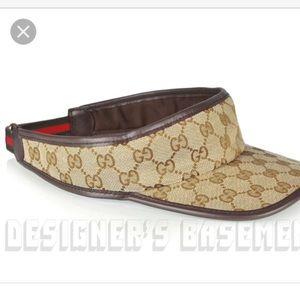 538cf04fd15 Gucci Accessories - Gucci visor cap New   authentic M