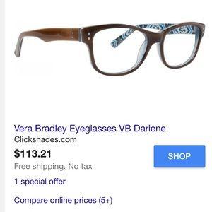 f27b50427f Vera Bradley Accessories - Vera Bradley Glasses - VB Darlene