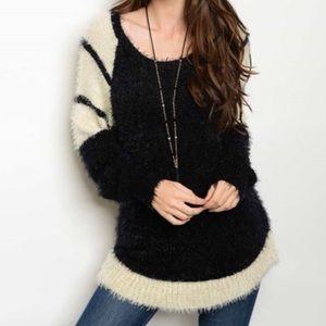 One Left! Fuzzy Sweater w/ Reviews