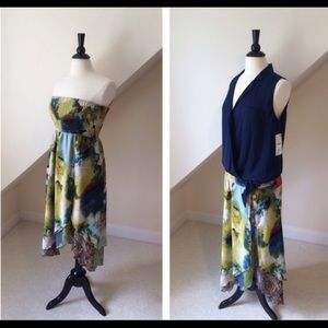 Sunny Leigh Dresses & Skirts - NWT Garden Goddess Convertible Skirt/Dress