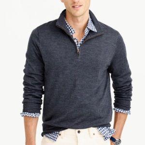 Black Brown 1826 Other - Black Brown 1826 Gray 1/4 Zip Sweater