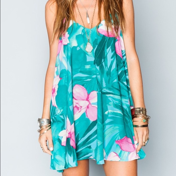 Circus Mini Dress in Green. - size M (also in L,S) Show me your Mumu