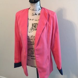 Jackets & Blazers - Coral or pink jacket