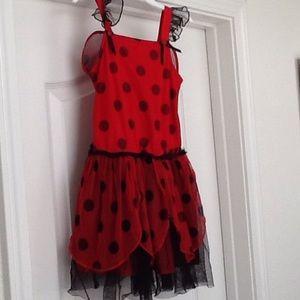 Dollie & Me Other - Ladybug dress for girls
