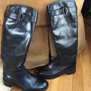 Tory Burch Shoes - Tory Burch classic black leather boots