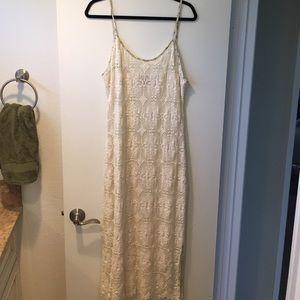 American Vintage Dresses & Skirts - Crochet Slip Dress