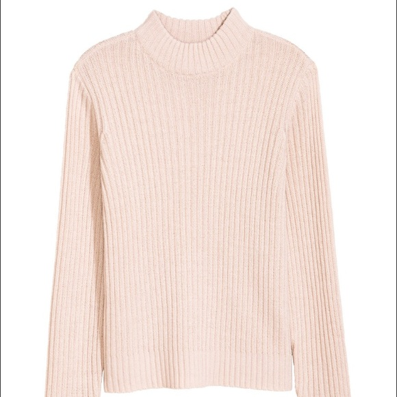 38% off Brandy Melville Sweaters - Cropped pink mock neck ...