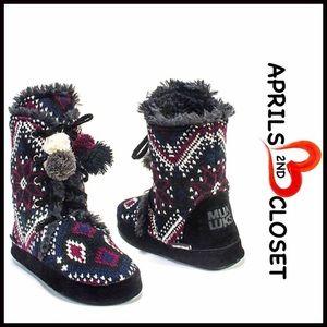 Muk Luks Shoes - ❗1-HOUR SALE❗MUK LUKS BOOTS Slipper Boots