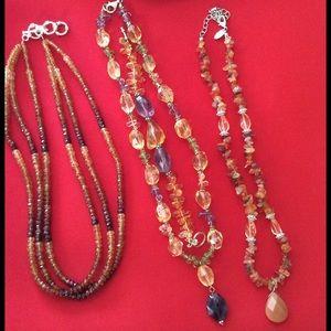 Jewelry - Gemstone necklace bundle