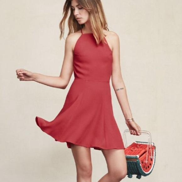 fc251ec0779 HP🎉 NWT Reformation Dove Dress Raspberry 4