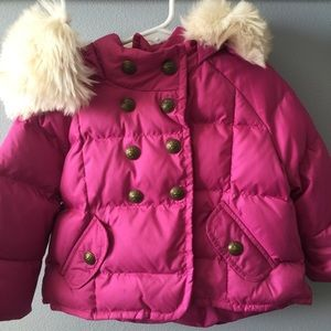 🔽 sale $32 Juicy Couture 2/3T  Girls Puffy Jacket