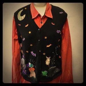 🎃Vintage Halloween Sweater Vest🎃 8