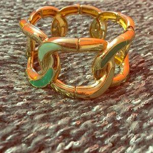 Unique mint green Bracelet