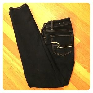 American Eagle Outfitters Denim - Barely worn AEO Dark Stretch Jeans