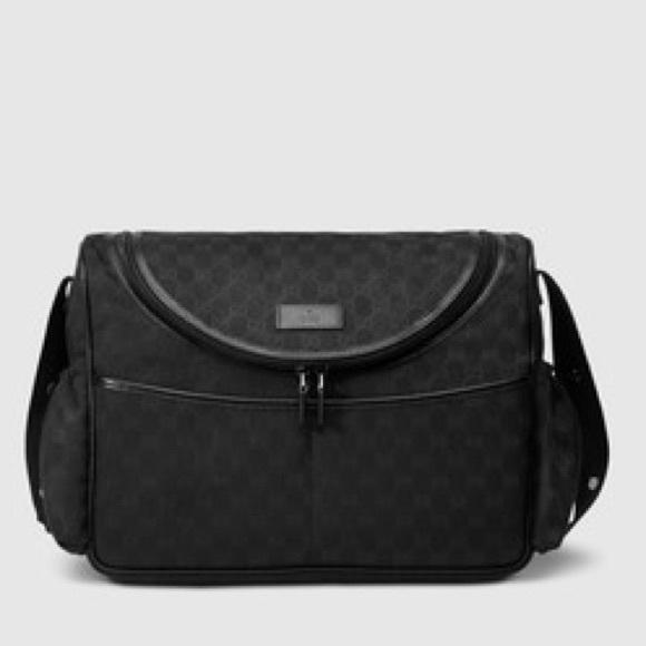 3fc20815d10d6b Gucci Bags | Black Diaper Bag | Poshmark