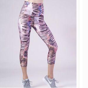 Emily Hsu Designs Pants - Quartz Capri legging