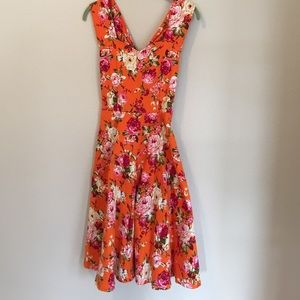 whispering ivy Dresses & Skirts - Floral Vintage Inspired Dress