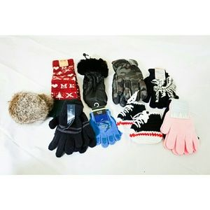 Other - NWT Kids 11 pairs gloves, socks, muffs and shoes