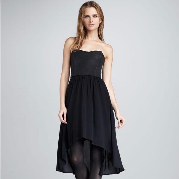 Ella Moss Dresses Black High Low Cocktail Dress Poshmark