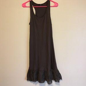 Ryu Tops - Brown dress/tunic