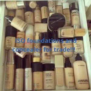 Other - ISO foundations and concealer for trade.