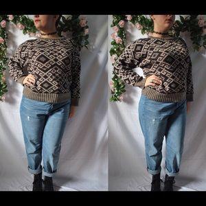 Vintage 80s Acrylic Sweater