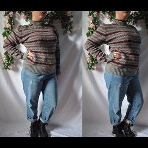 Vintage 80s Wool Sweater