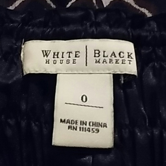 4. If you can't find a White House Black Market printable coupon to use when you're shopping in-store, the store will allow you to apply an online coupon code to your order. 5. To save money online, you can add one White House Black Market promo code to your order.