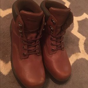 Wolverine Brown Leather Boots