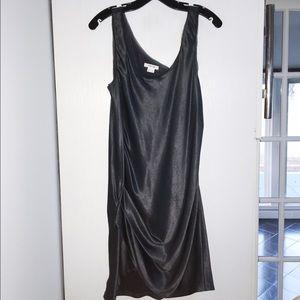 Helmut Lang Dresses & Skirts - HElMUT LANG Zippered Wrinkle Satin Dress 6