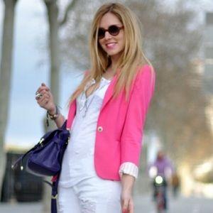 [blogger fav] Zara Pink Blazer