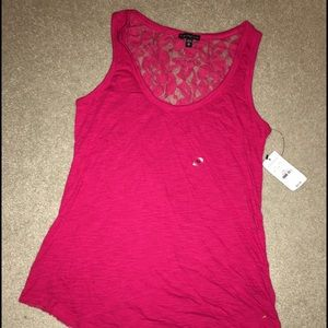 EXPRESS Lace Back Tank Top