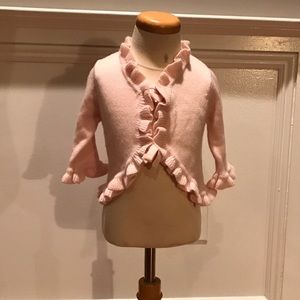 Baby CZ Other - Baby CZ Pink 100% Cashmere Cardigan