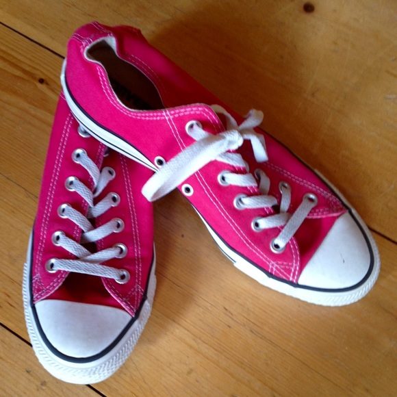 6142ff858a3c Converse Shoes - Raspberry pink converse size 9