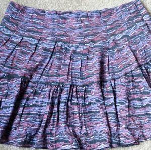 Free People Dresses & Skirts - Free People Printed Purple Skirt