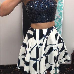 Sherri Hill Dresses - Size 0 two piece homecoming dress