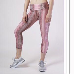 Emily Hsu Designs Pants - Aiyana Blush Capri Legging