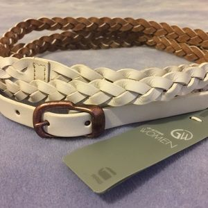 G-Star Accessories - NWT [G-Star] Madison Chino Leather Belt - 28