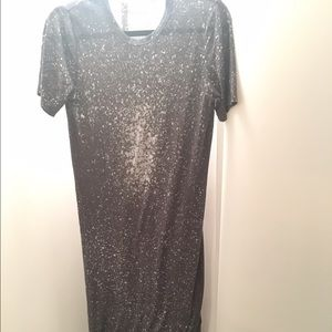 IRO Jeans Lina Maxi dress size small