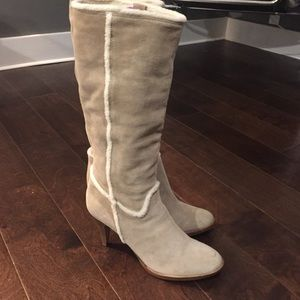 "NEW! Banana republic ""sun valley"" suede boot sz 10"